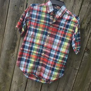 Polo Ralph Lauren Button Down Boys Sz 10/12